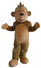 Adult Fancy Monkey Mascot suit For Party  Carnival Outfit