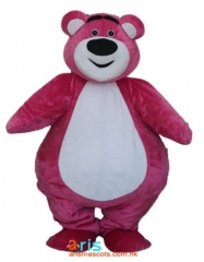 Adult Fancy Lotso Bear Mascot Costume Cartoon Character mascot suit