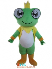 Adult Fancy Frog Mascot Costume Ocean Animal Mascot Suit