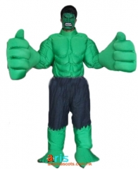 Adult Fancy The Hulk Mascot Costume Cartoon Character mascot suit