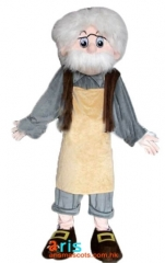 Adult Fancy Scientist Mascot Costume Cartoon Character mascot suit