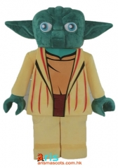 Adult Fancy  Star Wars Yoda Mascot Costume Cartoon Character mascot suit
