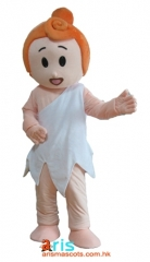 Adult Fancy Wilma  Mascot Costume Cartoon Character Mascot Outfits for Sale Custom Mascot Costumes at Arismascots