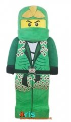 Adult Lego Ninjago Mascot Costume Custom Mascots for Advertising Superhero Dress for Sale Deguisement Mascotte Quality Mascot Maker Arismascots