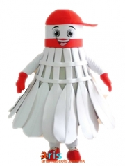 Adult Size Fancy Badminton Mascot Suit Advertising mascot outfit
