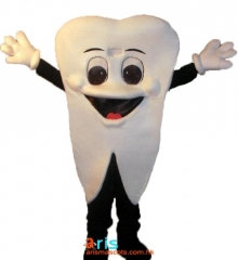 Adult Size Fancy Tooth Mascot Suit Advertising mascot outfit