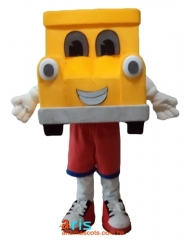 Adult Size Fancy Car Mascot Suit Advertising mascot outfit