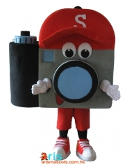 Adult Size Fancy Camera Mascot Suit Advertising mascot outfit