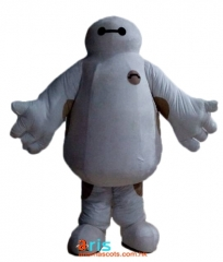 Adult Fancy Baymax Mascot Costume Custom Mascots for Advertising Superhero Dress for Sale Deguisement Mascotte Quality Mascot Maker Arismascots
