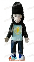 Adult Fancy Sing Gorilla Jimmy Mascot Costume Cartoon Character mascot suit