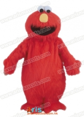 Adult Fancy Elmo Monster Mascot Costume Cartoon Character mascot suit