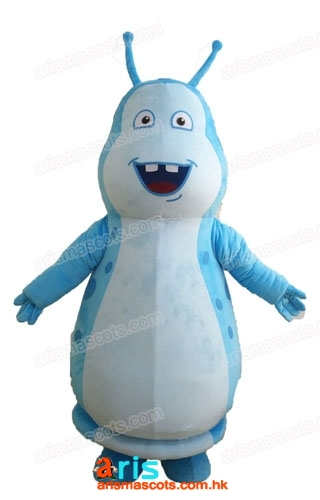 Adult Size Beat BugsWalter Mascot Costume Fancy Cartoon Character Mascots for Kids Party Funny mascot costumes for sale