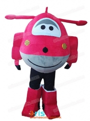 SuperWings  Mascot Costume Fancy Cartoon Character Mascots for Kids Party