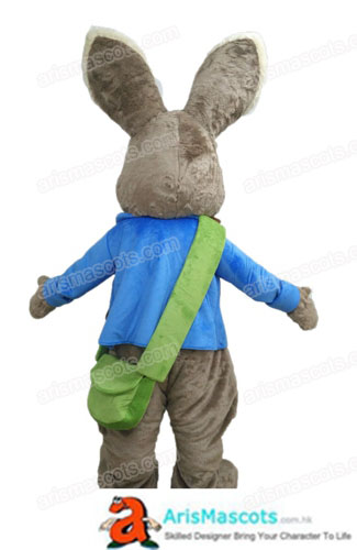 3794208ed62aa Adult Fancy Peter Rabbit Mascot Costume Cartoon Mascot Costumes for  Birthday Party Cartoon Costumes Creat Your Own Mascot