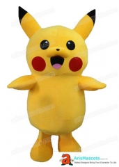 Adult Fancy Pikachu Mascot Costume for Sale Pikachu mascot suit for birthday party Cartoon Mascots