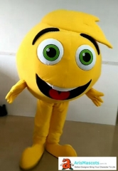 Adult Fancy Emoji Mascot Costume for Sale Emoji mascot suit for birthday party