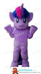Adult Fancy My Little Pony Sparkle Twilight Mascot Costume for Birthday Party Buy Mascots Online Custom Mascot Costumes Arismascots Cheap Mascot