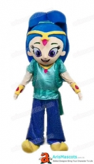 Adult Fancy Shimmer and Shine Mascot Costume for Birthday Party Buy Mascot Outfits Online at Arismascots