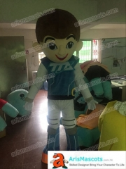 Adult Fancy Miles from Tomorrowland Mascot Costume for birthday party Cartoon Character Mascot Costumes for Sale Creat Your own Mascots