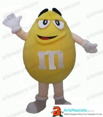 Adult Size Fancy M&M's Mascot Costume Advertising mascots Custom Funny Mascot Costumes for Sale