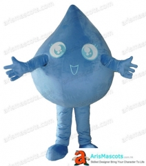 Adult Size Fancy Water Drop Mascot Costume Advertising mascots Custom Funny Mascot Costumes for Sale