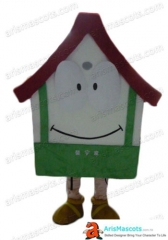 Adult Size Fancy House  Mascot Costume Advertising mascots Custom Funny Mascot Costumes for Sale
