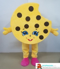 Adult Size Cute Cookie Cookie Mascot Costume Advertising mascots Custom Funny Mascot Costumes for Sale