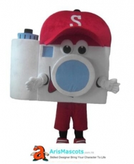 Adult Size Fancy Camera Mascot Costume Advertising Mascots for sale buy Mascot  outfits online