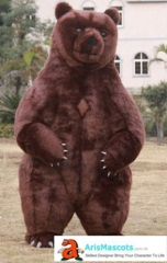 Funny Adult Inflatable Costume Brown Bear Mascot Costume for Party Animal Mascots Creat Your Own Mascot Costumes Buy Mascot Outfits Online ArisMascot