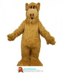 Adult Fancy ALF Monster Mascot Costume Cartoon Character mascot suit for birthday party buy mascots at arismascots