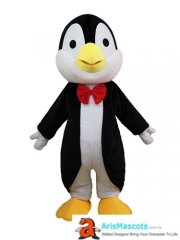 Adult Size Lovely  Penguin Mascot Costume Cartoon Mascot Outfits for Birthday Party Custom Mascots at ArisMascots