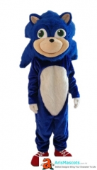 New Sonic X Hedgehog Mascot Costume Adult Cartoon Mascot Costumes for Party Professional Mascot Design Company