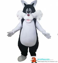 Lovely Sylvester the Cat Mascot Costume Adult Funny Cartoon Character Costumes for Party Mascots Deguisement