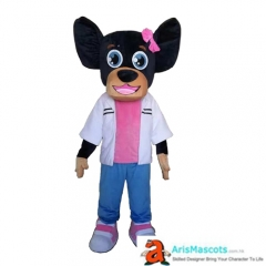 Fancy Dog mascot outfit Party Costume Buy Mascots Online Custom Mascot Costumes Animal Mascots Sports Mascot for Team Deguisement Mascotte