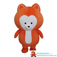 Inflatable Fox Adult Costume for Event Custom Mascot Costumes Carnival Dress