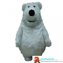 Fancy Polar Bear Mascot Adult Costume Buy Mascots Online Custom Mascot Costumes Animal Mascots Sports Mascot for Team Deguisement Mascotte