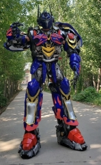 Adult Size Funny Transformers Costume Optimus Prime Cosplay Dress Deguisement Mascotte for Party Halloween Costume