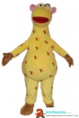 Adult Fancy Giraffe Costume Mascot Cartoon Character Mascot Costumes for Party Custom Mascots