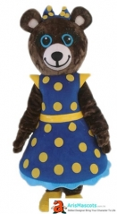 Adult  Bear Mascot Costume Animal Mascots for Event Party and Entertainment Carnival Costumes Character Design