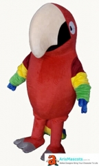 Adult Parrot Mascot Costume for Event Party Birds Mascot for Entertainment Carnival Costumes Mascot Maker Funny Mascot Costumes