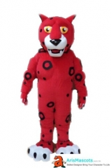 Cheetah Mascot Costume for Event Party Animal Mascots for Entertainment Carnival Costumes Character Mascot Design Custom Mascot Maker