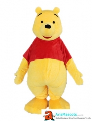 Adult Winnie the Pooh Costume for Entertainment and Event Party Cartoon Mascot for Birthday Character Design Custom Mascot Costumes Maker Aris Mascots