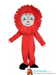 Red Lion Mascot Costume for Advertising Custom Mascot Maker Character Design Funny Mascot Costumes