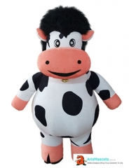 Funny Inflatable Suit Cow Mascot Costume for Event Advertising Mascots Production Custom Mascot Maker Character Design