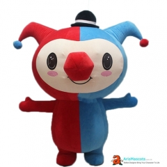 Funny Inflatable Suit Clown Mascot Costume for Event Advertising Mascots Production Custom Mascot Maker Character Design