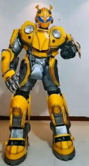 Real Transformer Costume Life Size Bumblebee Beetle Transformer Costume Real Transformer Fancy Dress for Sale Cosplay Bumblebee