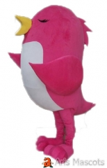 Pink and White Girl Tweety Bird Costume Adult Full Mascot Suit Birds Mascots