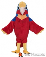 Disguise Mascot Parrot Costume Adult Full Outfit Colorful Bird Mascots Fancy Dress Up for Entertainment